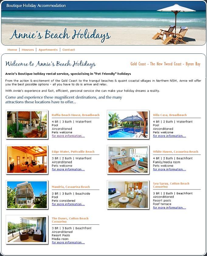 Annies Beach Accomodation