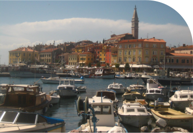 Riding The Dalmation Coast To Rovinj