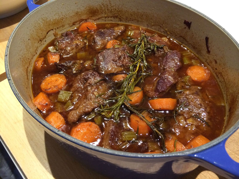 Beef Cheek Slow Cook
